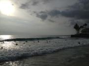 Magic Sands beach. Boogy boarder paradise.