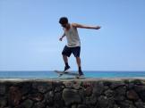 Skate tricks.